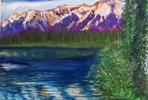 Reflections in Montana by Iris Devadason