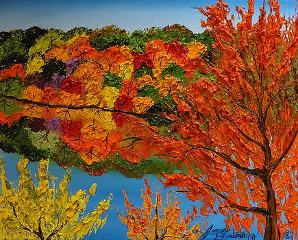 Reflections Of Autumn 1 by Portland Art Creations