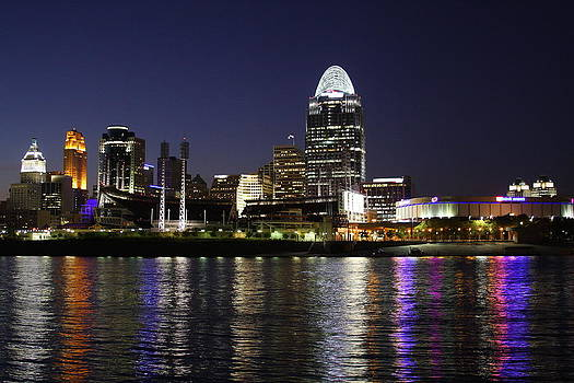 Reflections of Cincinnati by Anthony Wilder
