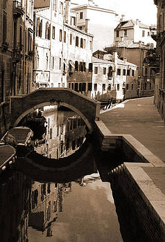 Donna Corless - Reflections on Venetian Canal