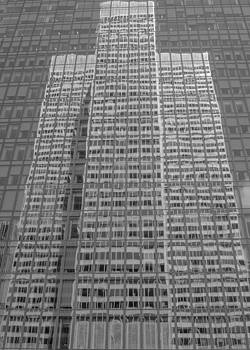 Reflexion Place Ville-Marie BW by Pierre-Marc Cardinal