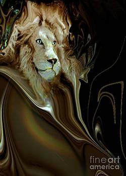 Regal Lion by Doris Wood