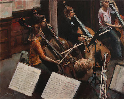 Rehearsing Rachmaninoff III by Gavin Calf