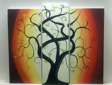 Rejuvenating tree by Nandi Patel