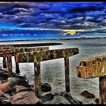 Remains Of The #boardwalk Inlet Part Of by Pete Tountas