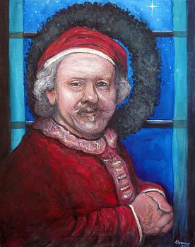 Tom Roderick - Rembrandt Santa