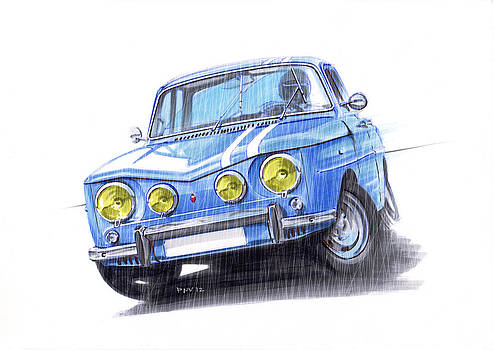 Renault 8 Gordini Amazing Drift by Atanas Panchov
