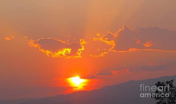 Reno at Sunset by Phyllis Kaltenbach