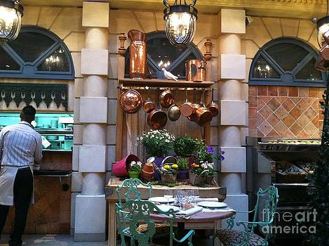 restaurant in Paris by Laura Ramsey