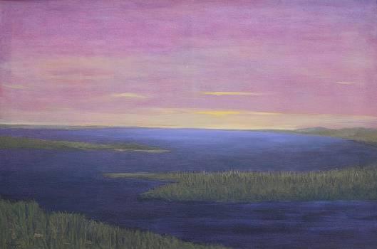 Restful River by Linda Krupp