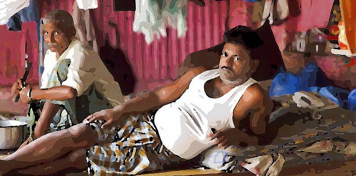 Kantilal Patel - Resting