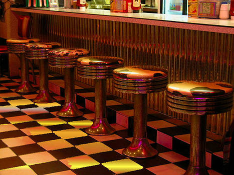 Retro Diner by Barbara Porto
