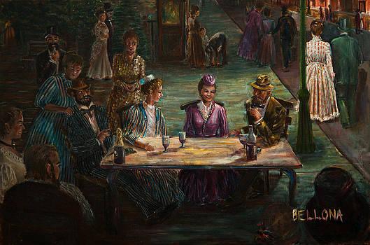 Reunion - 1895 by Wilma Kleinhans
