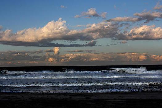 Rexham Beach Sky by Malcolm Lorente