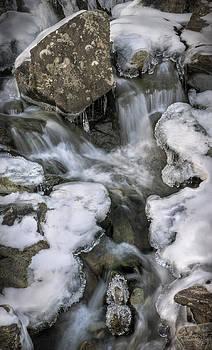 Rhaeadr Idwal Waterfall Fossils by Andy Astbury