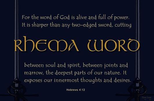 Rhema word by Greg Long