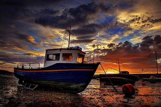Rhos Sunrise by Mal Bray
