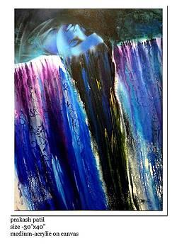Rhythm of waterfall by Prakash Patil