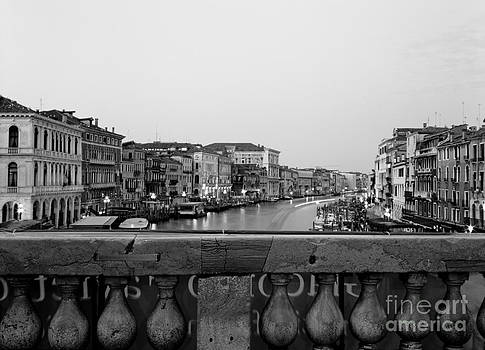 Rialto Canal View by Kim Baker