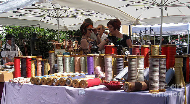 Ribbon Sale Isle Sur le Sorgue France by AnneKarin Glass