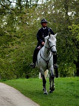 Rider in Regent Park by Carrie Putz