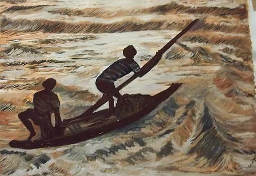 Riders to the Sea by Iris Devadason