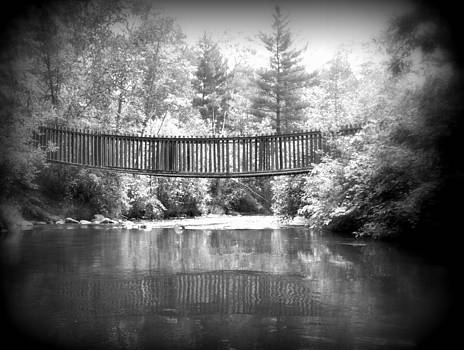 Rifle River Bridge by Jennifer  King