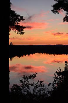 Rifle River State Park Sunset2 by Jennifer  King