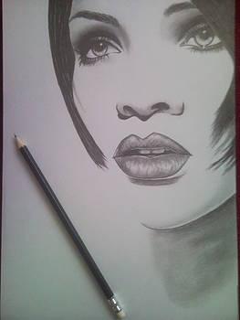 Rihanna by Lucia Vratiakova