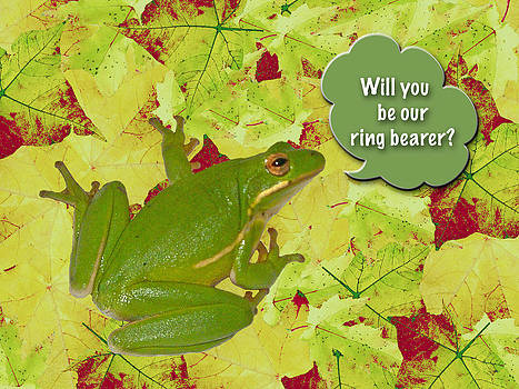 Mother Nature - Ring Bearer Request - Green Tree Frog