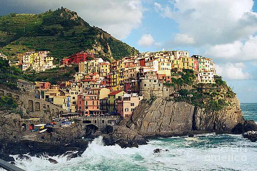 Riomaggiore Italy by Virginia Furness