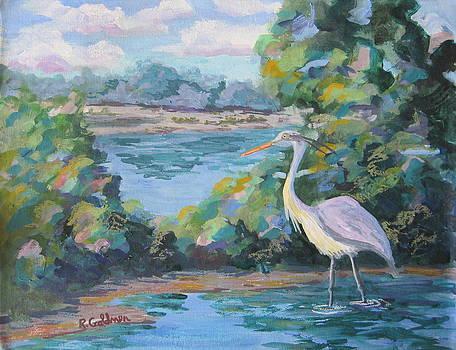 Riparian Preserve by Rita Goldner