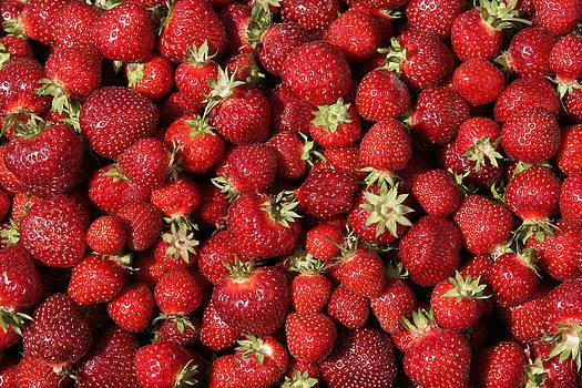 Ripe Strawberries by Phil Degginger