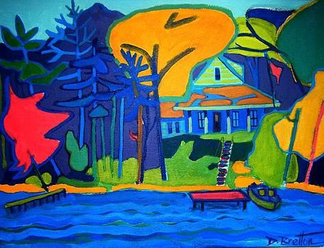 River Cottage by Debra Bretton Robinson