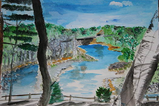 River by Mladen Kandic