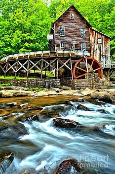 Adam Jewell - River Rock And A Grist Mill