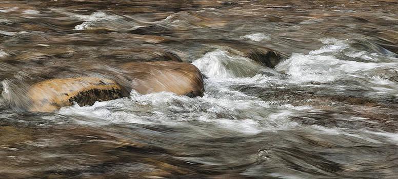 River Rock by Lou  Novick