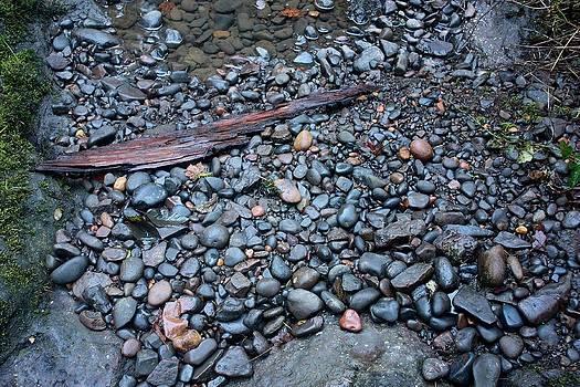 River Rock by Peggy Quade