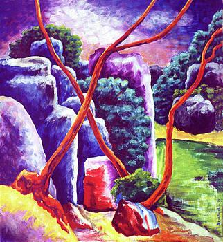 River Rocks by Terrie  Rockwell
