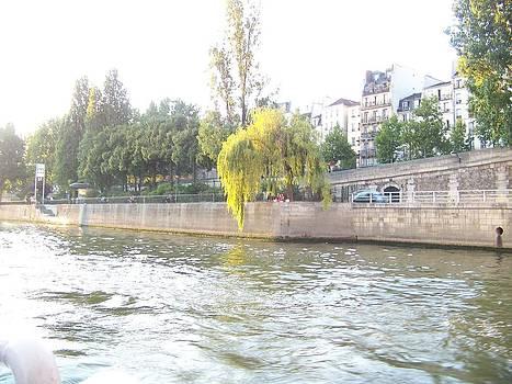 River Scene by Maggie Cruser