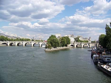 River Seine by Maggie Cruser