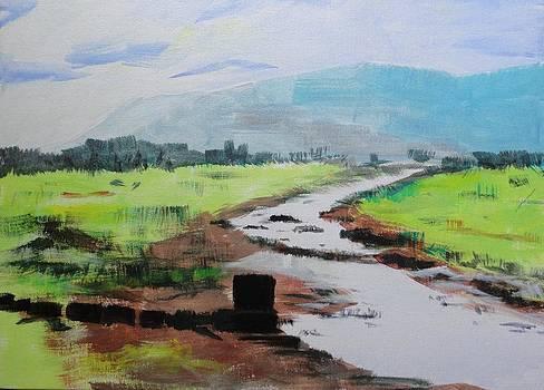 River by Vijayendra Bapte