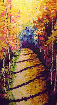 Road Less Traveled by Barbara Sudik