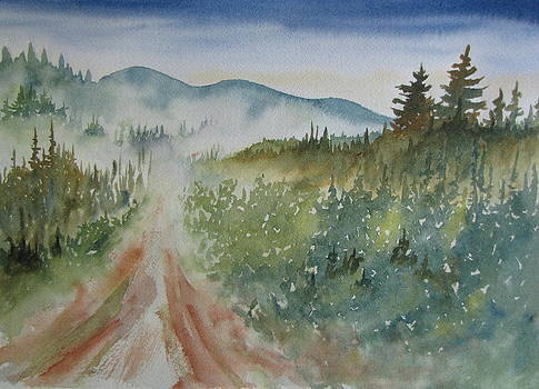 Road Through the Hills by Ramona Kraemer-Dobson