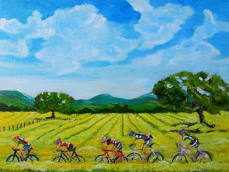 Road to Sebastopol by Terrence  Howell
