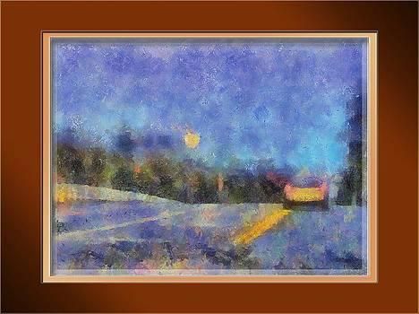 Roadside Moon by Ramani K