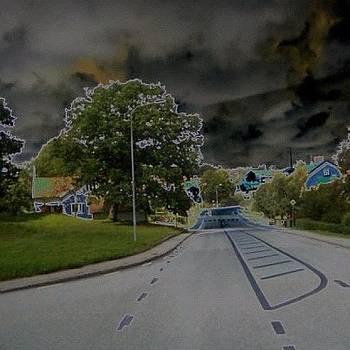#road#tree#sweden by Andrea Romero