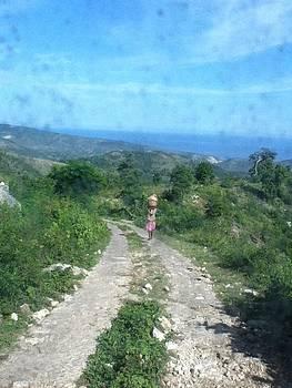 Roadway in Haiti by Ruthanne McCann