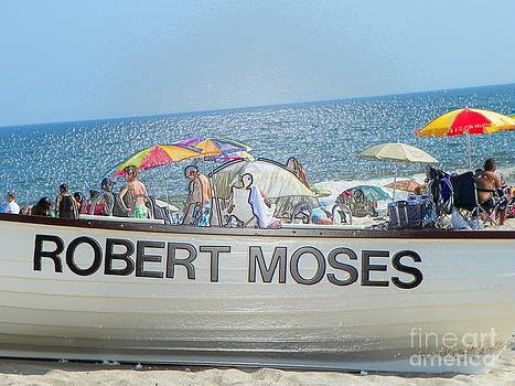 Robert Moses Beach by Laurence Oliver