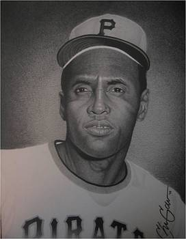 Roberto Clemente by Christian Garcia